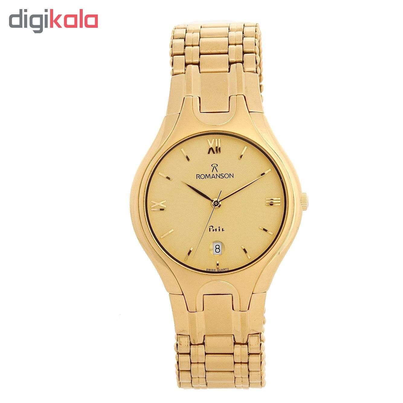 ساعت مچی عقربه ای مردانه رومانسون مدل NM4507MM1GA81G