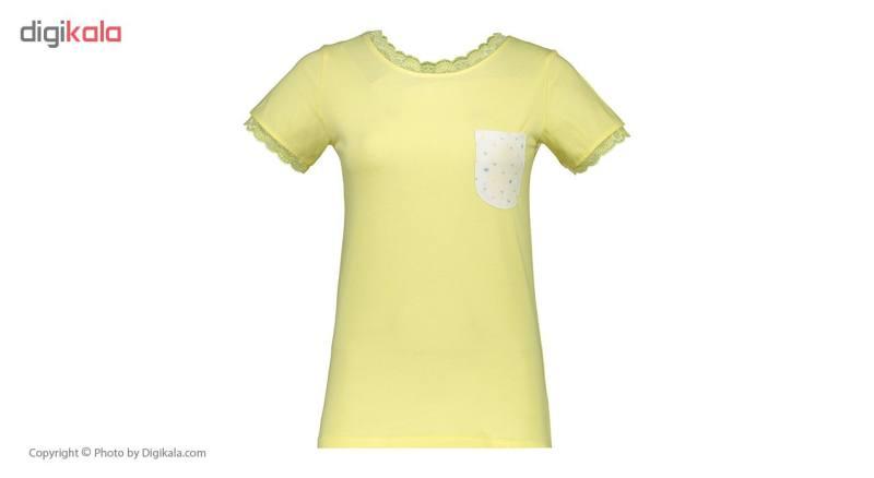 ست تی شرت و شلوار راحتی زنانه ناربن مدل 1521143-16