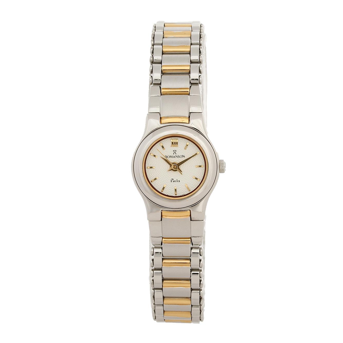 ساعت مچی عقربه ای زنانه رومانسون مدل NM4510LL1CAS1G 35
