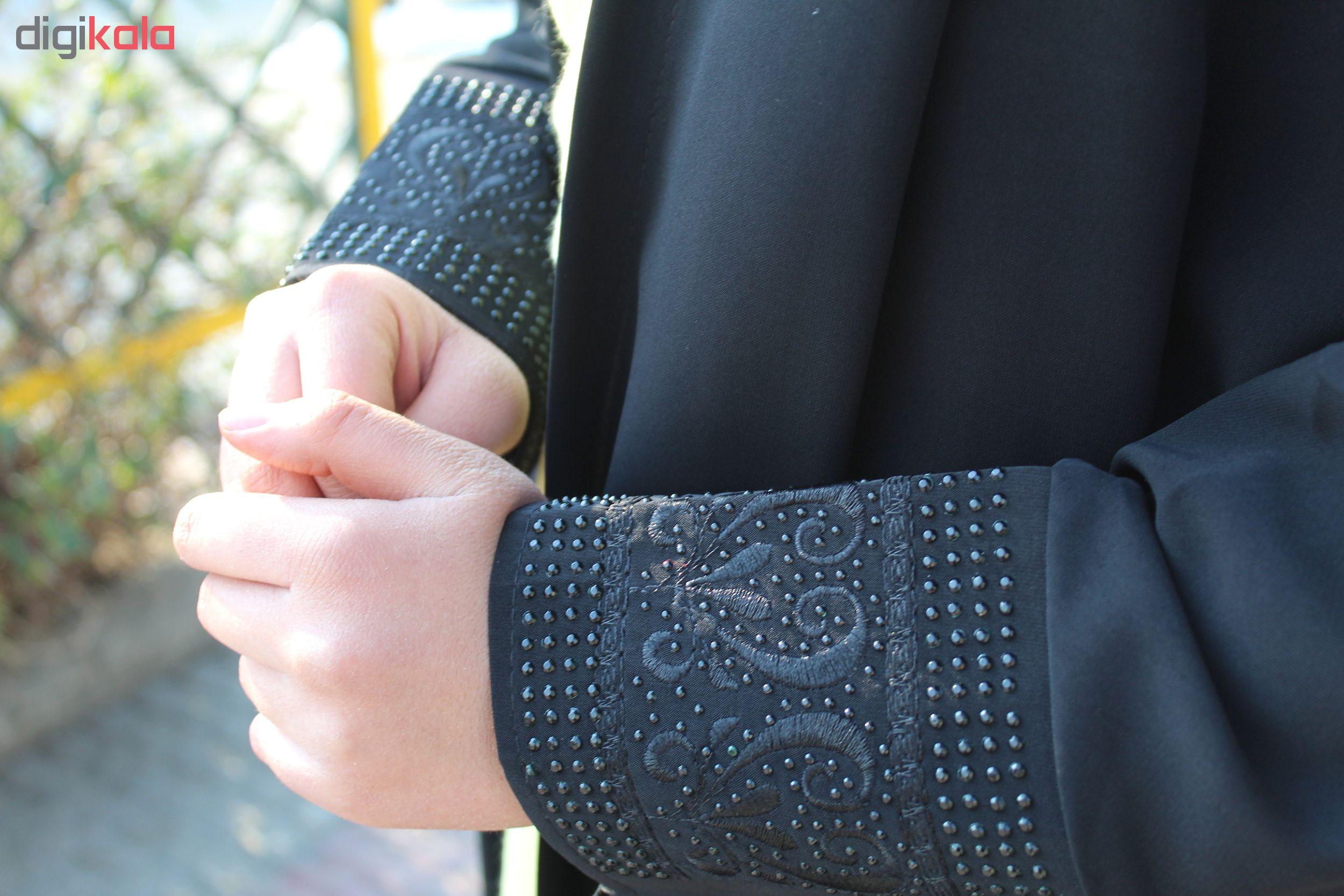 چادر شیدا طرح دار کن کن  حجاب حدیث کد 150