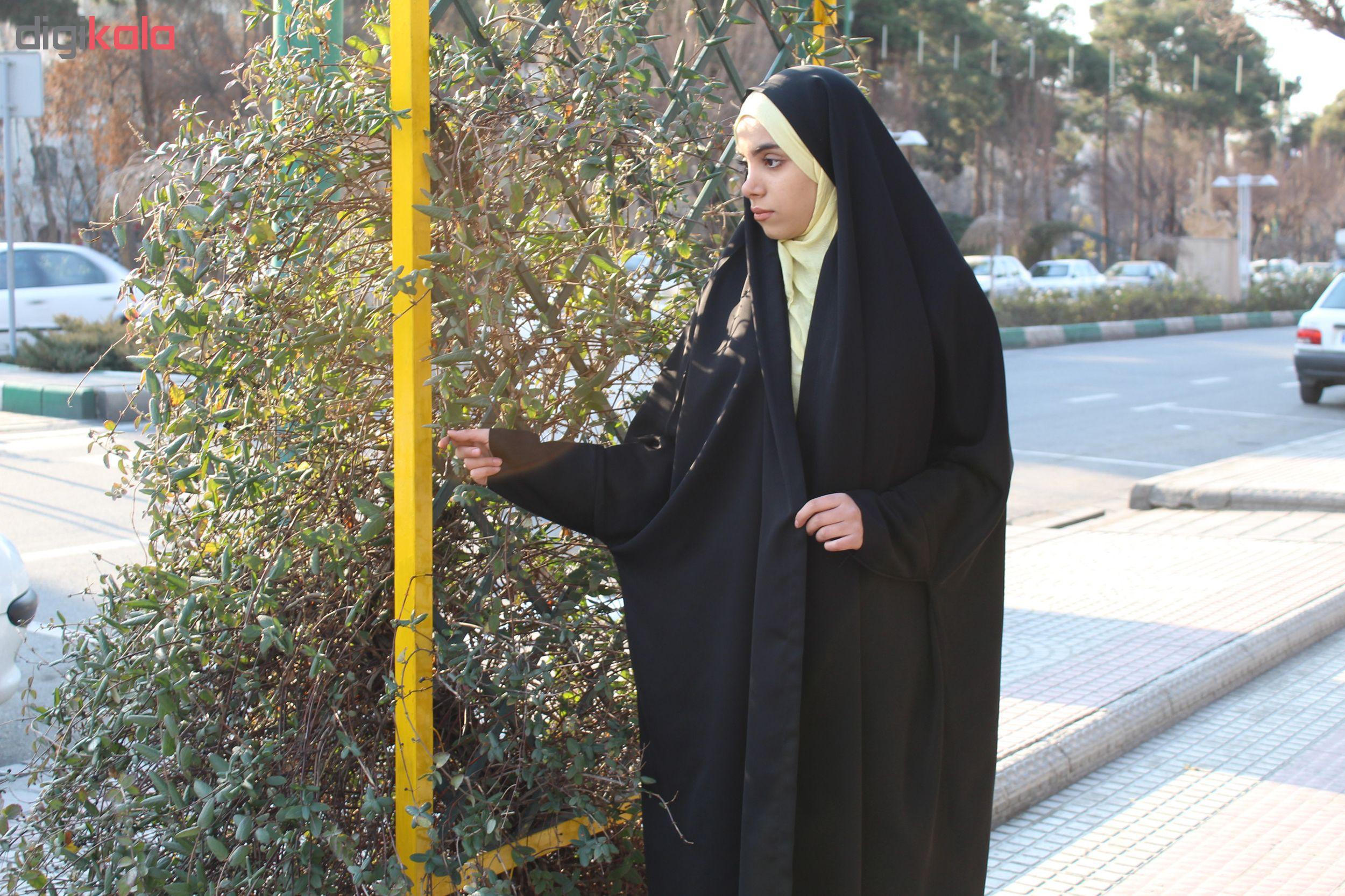 چادر دانشجویی مچ دار حریرالسود حجاب حدیث کد 151