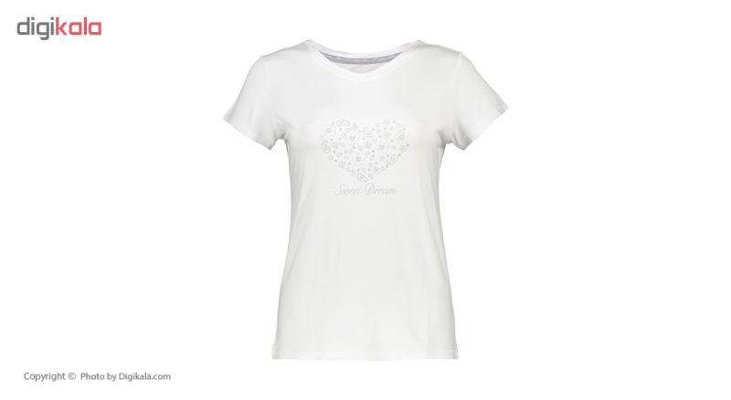ست تی شرت و شلوار راحتی زنانه ناربن مدل 1521136-01