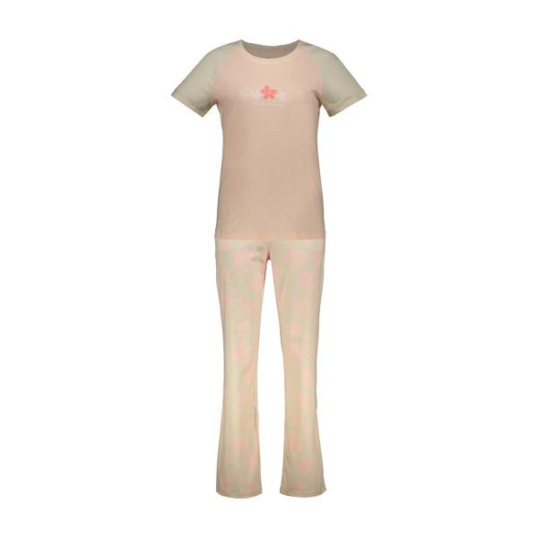 ست تی شرت و شلوار راحتی زنانه ناربن مدل 1521161-80