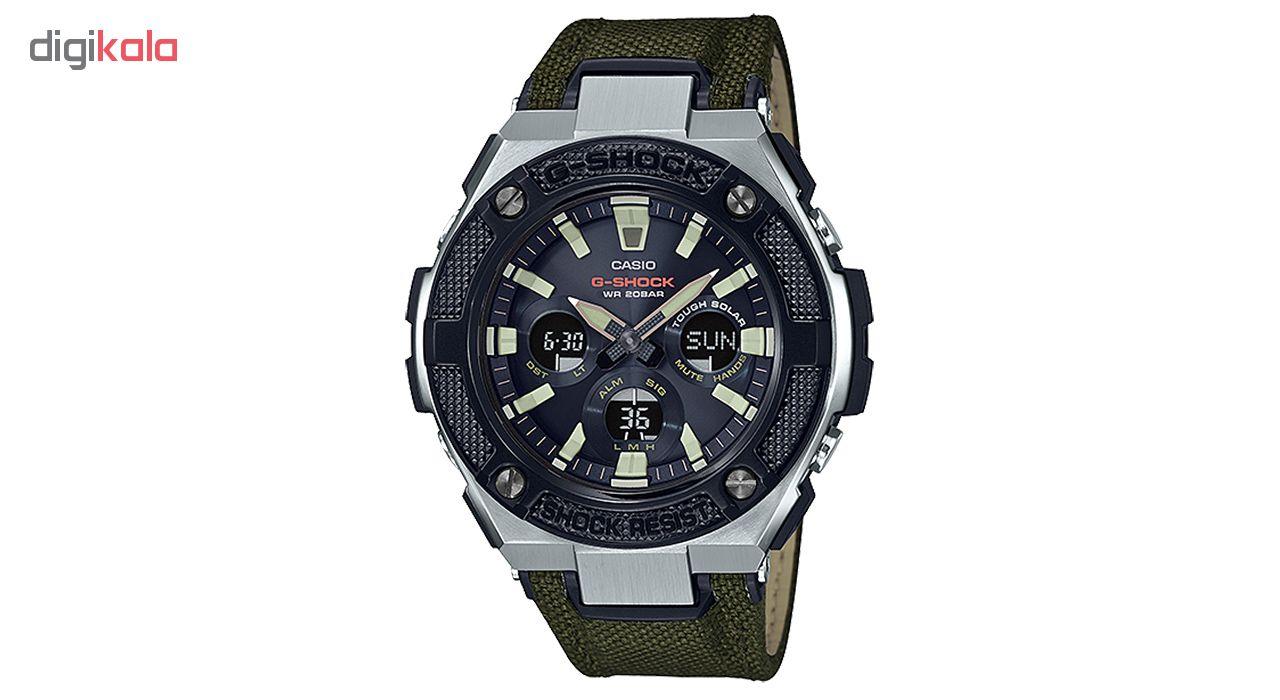 کد تخفیف                                      ساعت مچی عقربه ای مردانه کاسیو مدل GST-S330AC-3ADR