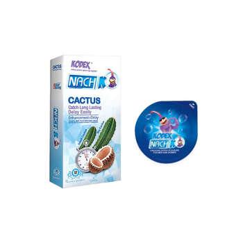 کاندوم ناچ کدکس مدل CACTUS بسته 12 عددی به همراه کاندوم مدل بلیسر