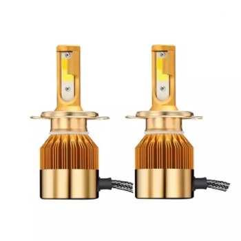 لامپ خودرو سه رنگ مدل H7 بسته 2 عددی