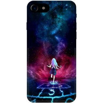 کاور آکو طرح دختر مدل B452 مناسب برای گوشی موبایل اپل iPhone 7/8