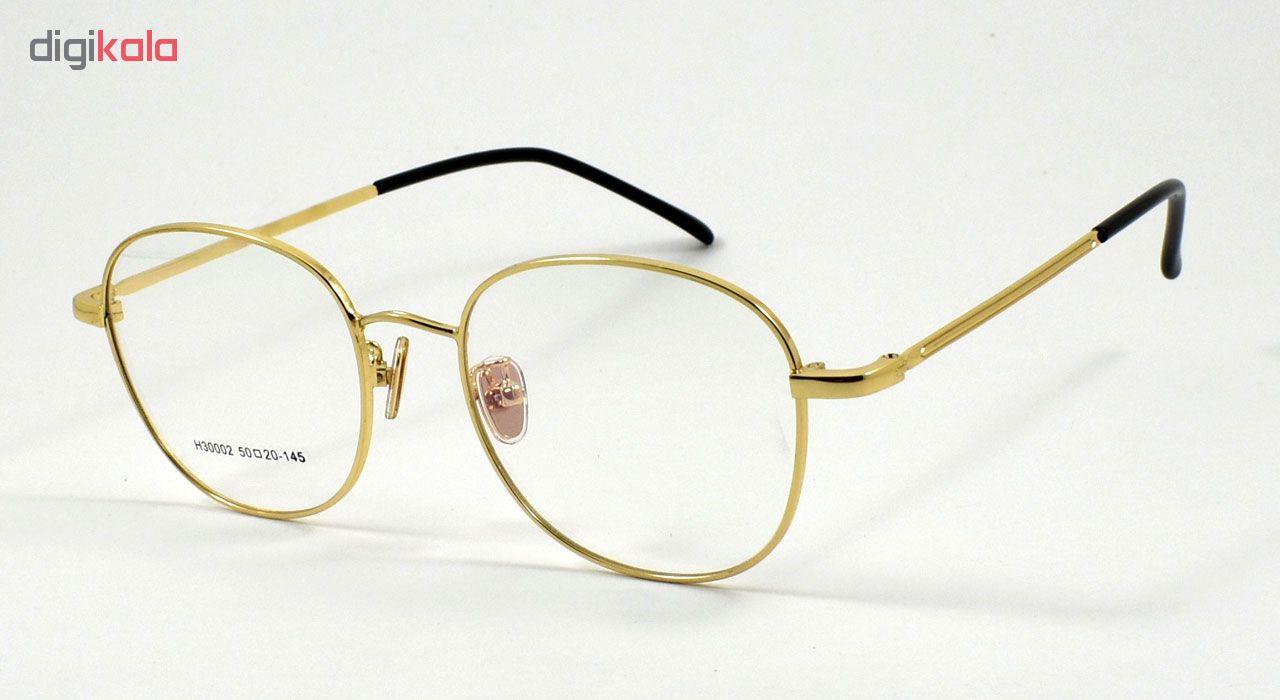 فریم عینک طبی مدل Semi Round Light Metal