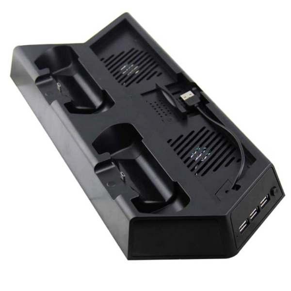پایه نگهدارنده و شارژ پلی استیشن 4 مدل KJHPS4-02
