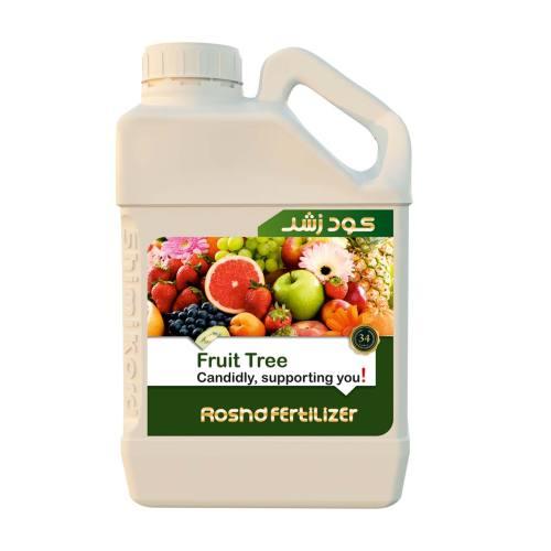 کود مایع رشد مدل fruit tree حجم 5 لیتر