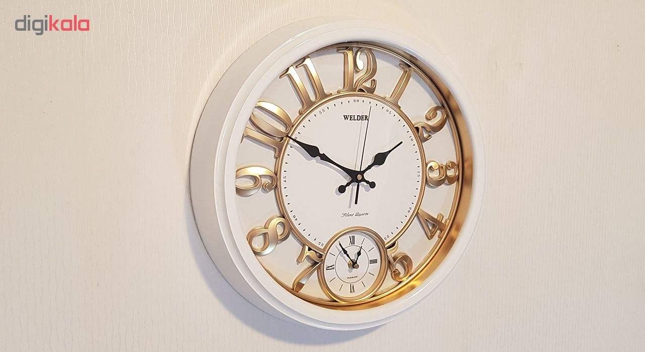 ساعت دیواری ولدر مدل 520-L main 1 2
