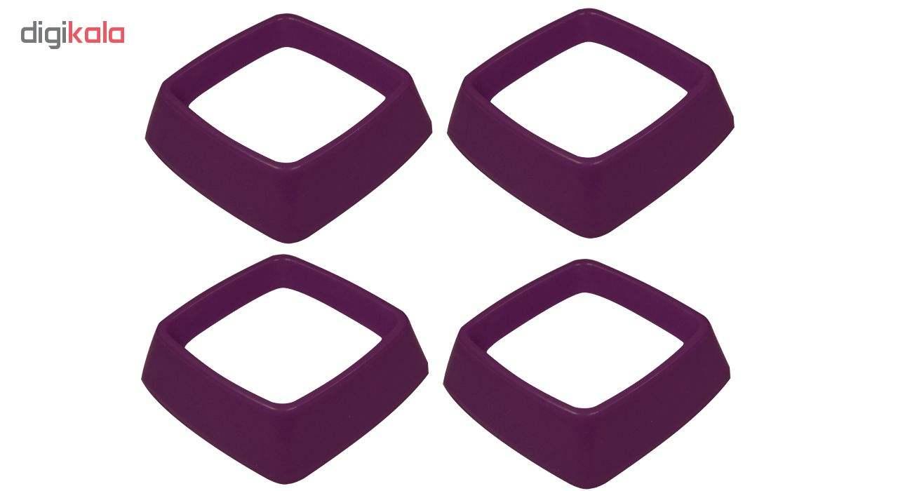 قالب شیرینی بک ویر مدل Cube بسته 4 عددی main 1 2