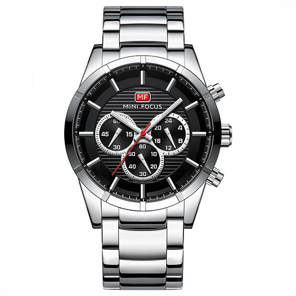 ساعت مچی عقربه ای مردانه مینی فوکوس مدل mf0170g.02