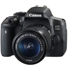 دوربین دیجیتال کانن مدل EOS 750D به همراه لنز 55-18 میلی متری IS STM و لوازم جانبی