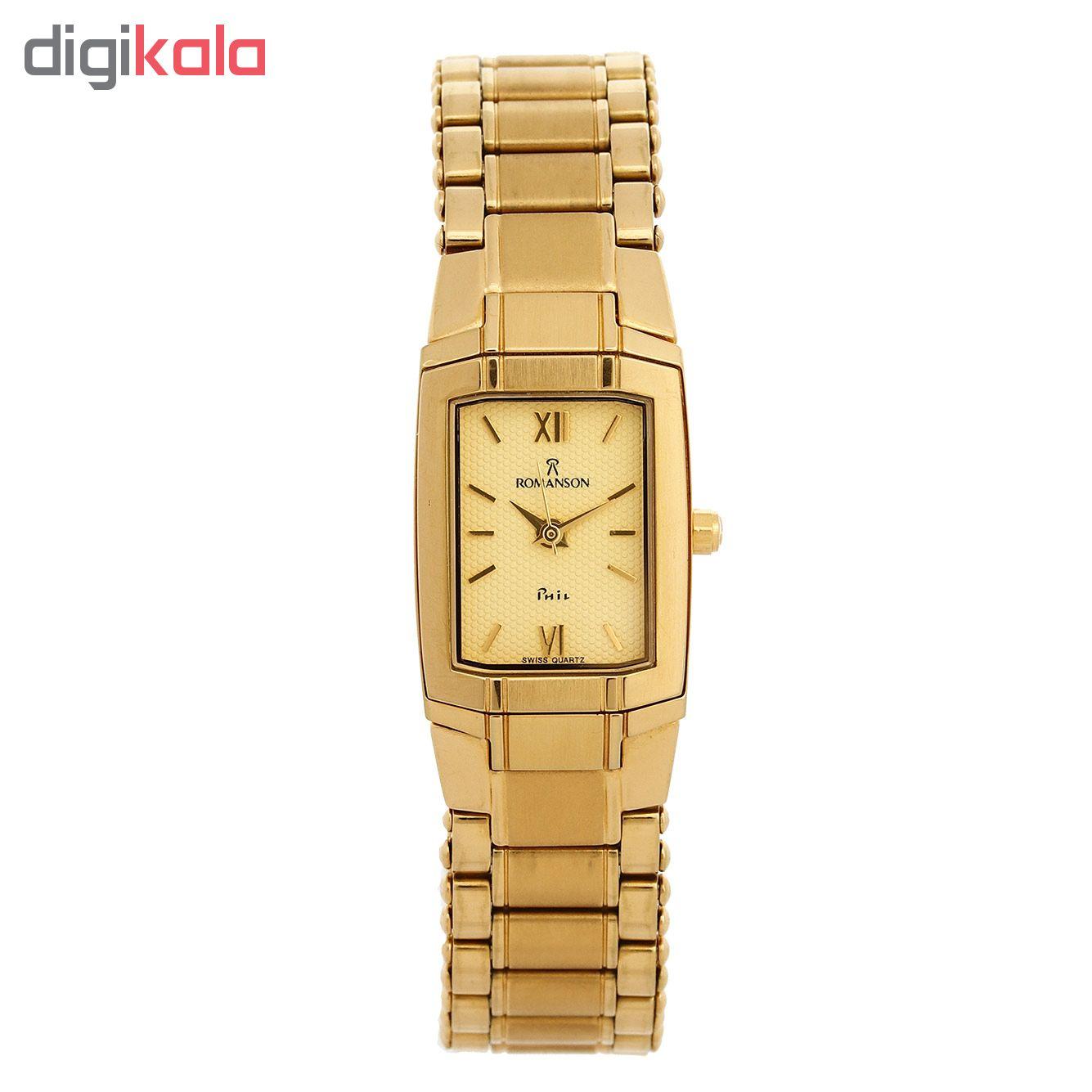 ساعت زنانه برند رومانسون مدل NM6506LL1GA81G