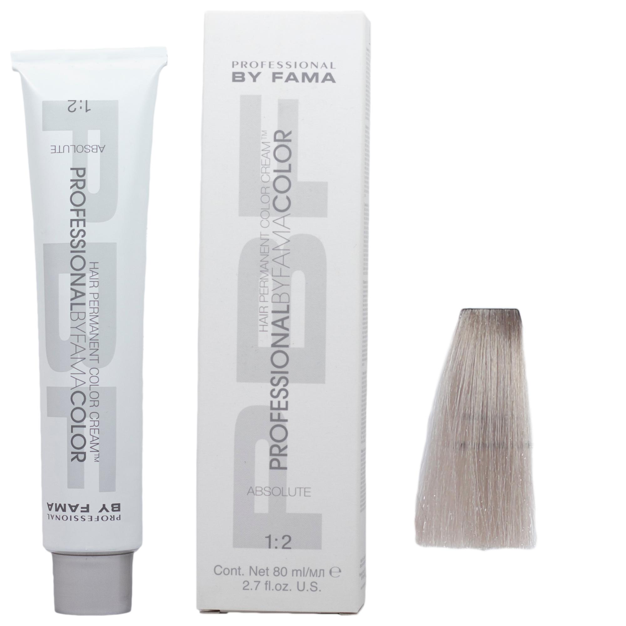 رنگ مو پروفشنال بای فاما سری ابسولوت شماره 10/89 حجم 80 میلی لیتر رنگ خاکستری مرواریدی