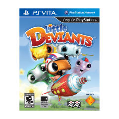 بازی LITTLE DEVIANTS مخصوص PSVITA