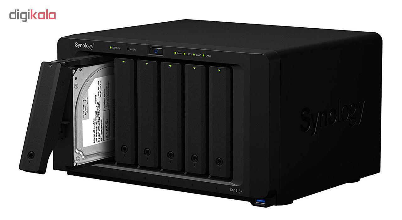 ذخیره ساز تحت شبکه 6Bay سینولوژی مدل دیسک استیشن DS1618Plus
