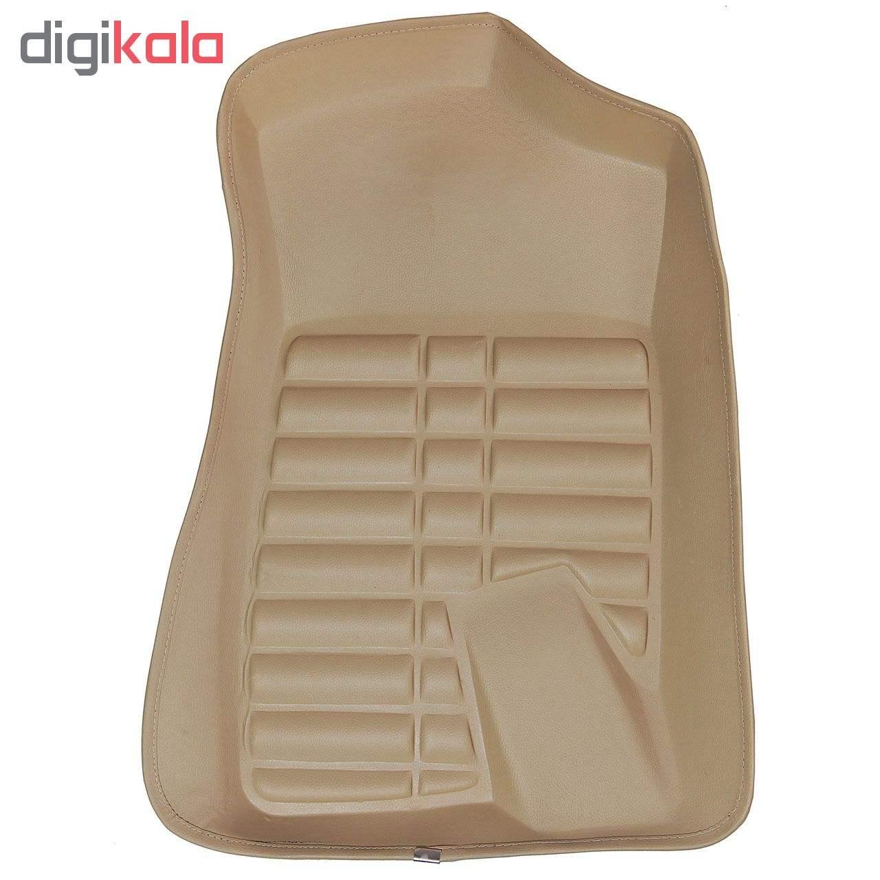 کفپوش سه بعدی خودرو مدل پالیز مناسب برای دنا-سمند-پژو 405-پارس main 1 3