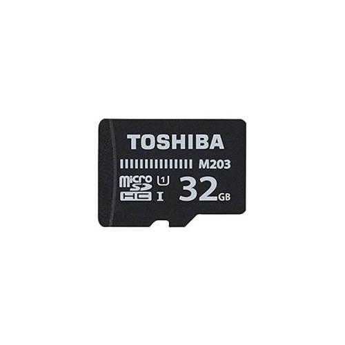 کارت حافظه microSDHC توشیبا مدل M203 کلاس 10 استاندارد UHS-I سرعت 100MBps ظرفیت 32 گیگابایت