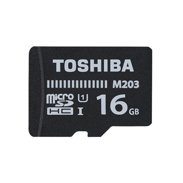 کارت حافظه microSDHC توشیبا مدل M203 کلاس 10 استاندارد UHS-I سرعت 100MBps ظرفیت 16 گیگابایت