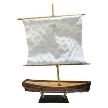 ماکت دکوری طرح کشتی مدل نهر