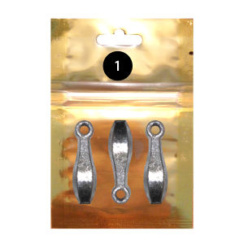 سرب ماهیگیری سایز 1 مدل LE10 بسته 3 عددی