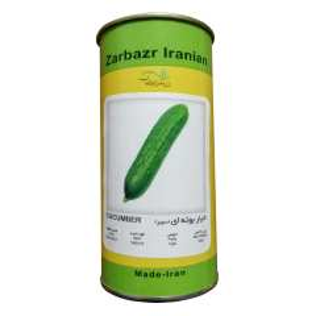 بذر خیار بوته ای زر بذر ایرانیان مدل سوپر دومینوس هیبریدی کد GH50g-57
