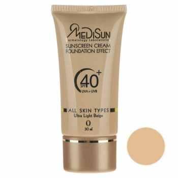 کرم پودر مدیسان سری All Skin مدل  Foundation Effect No 0 حجم 30 میلی لیتر