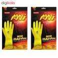 دستکش آشپزخانه رزمریم سایز مدیوم بسته 2 عددی thumb 1