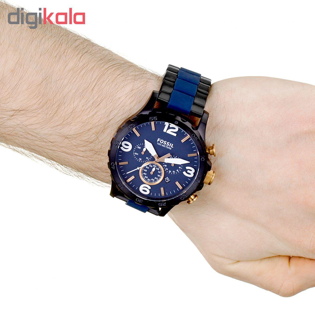 ساعت مچی عقربه ای مردانه فسیل مدل JR1494