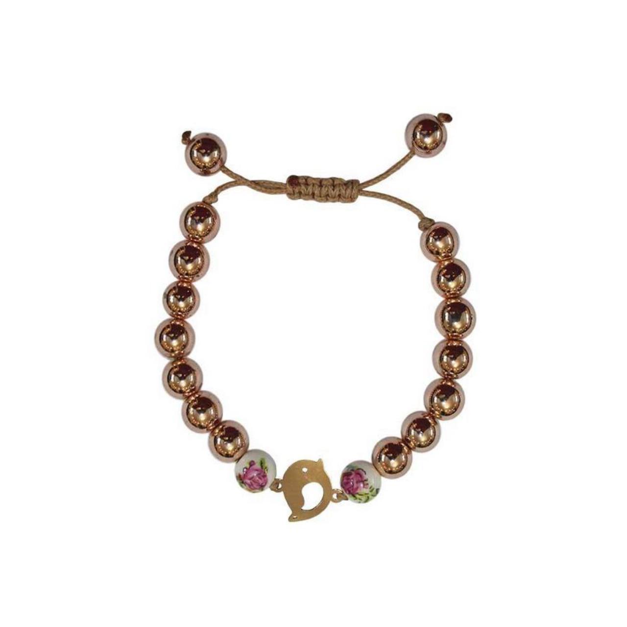 قیمت دستبند طلا 18عیار الن مدل EL158