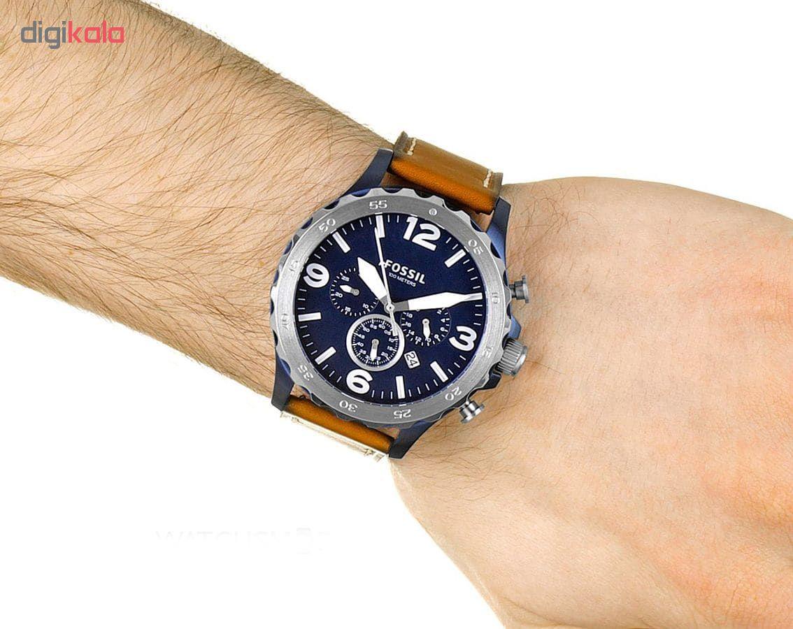 ساعت مچی عقربه ای مردانه فسیل مدل JR1504