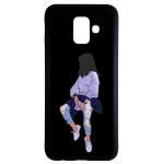 کاور طرح دخترانه کد 6799 مناسب برای گوشی موبایل سامسونگ Galaxy j6