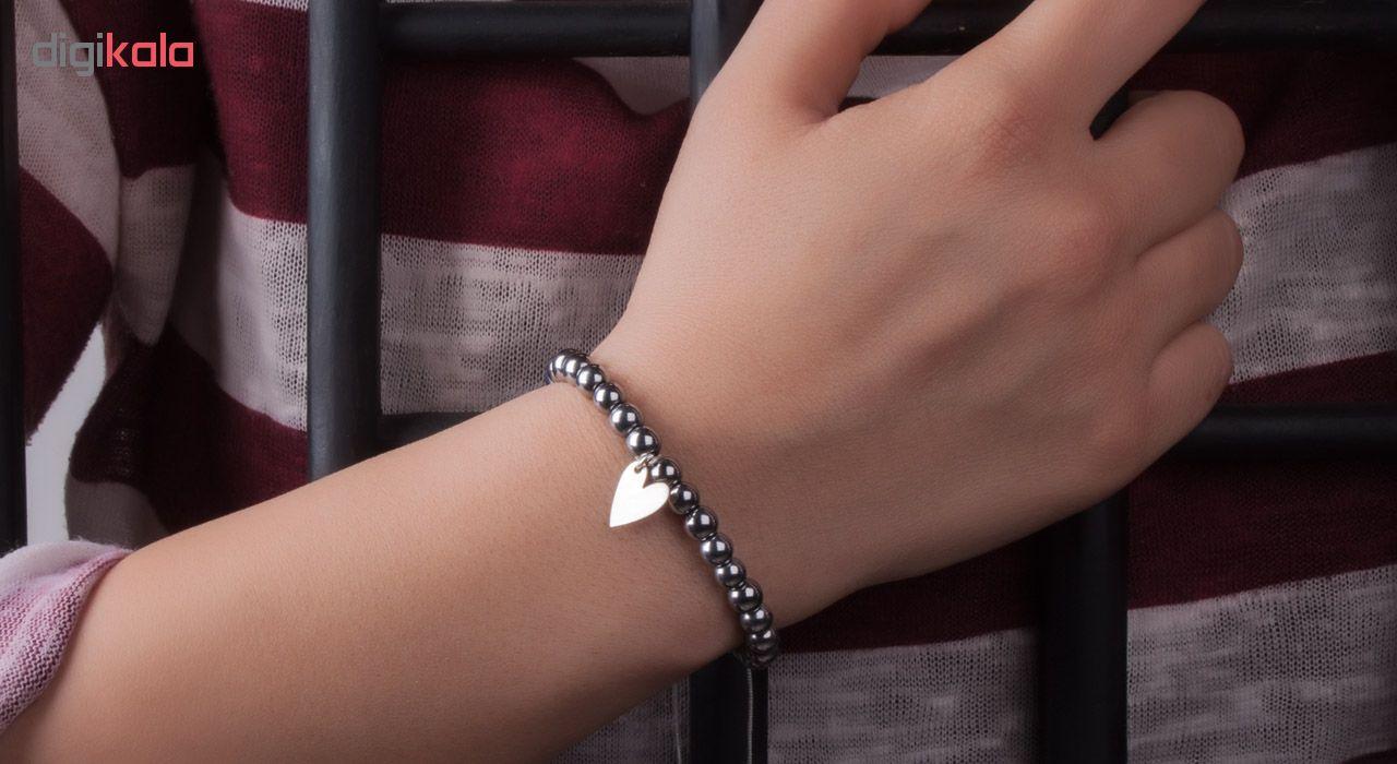 دستبند نقره زنانه ریسه گالری مدل Ri3-S1110-Silver