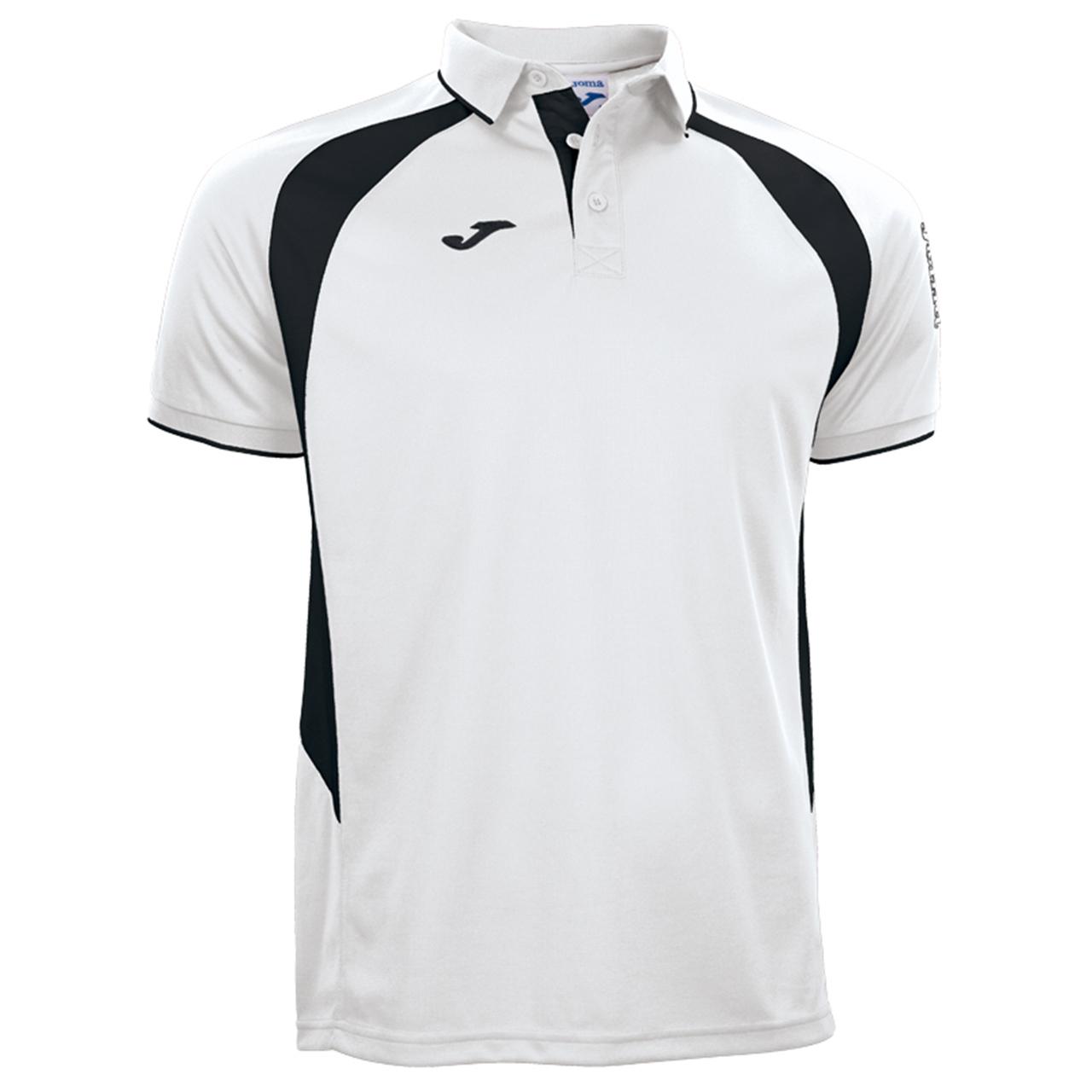 پلوشرت مردانه جوما مدل CHAMPION III WHITE-BLACK
