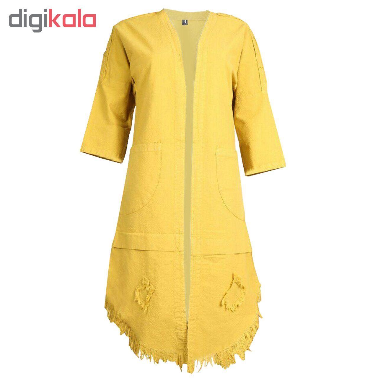 مانتو زنانه طرح ریشدار سنتی کد MahR01