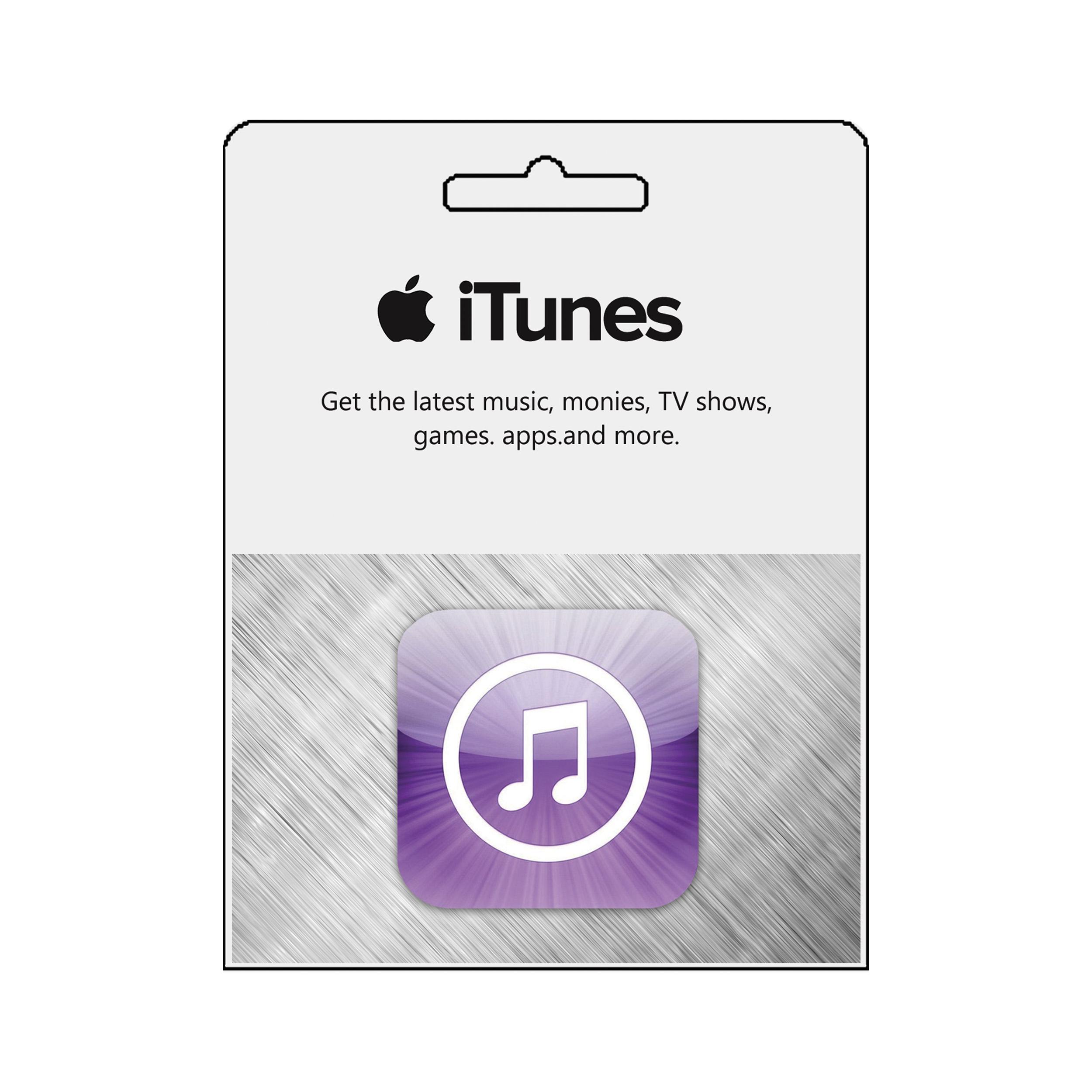 گیفت کارت فیزیکی  10 دلاری آیتونز کد 1
