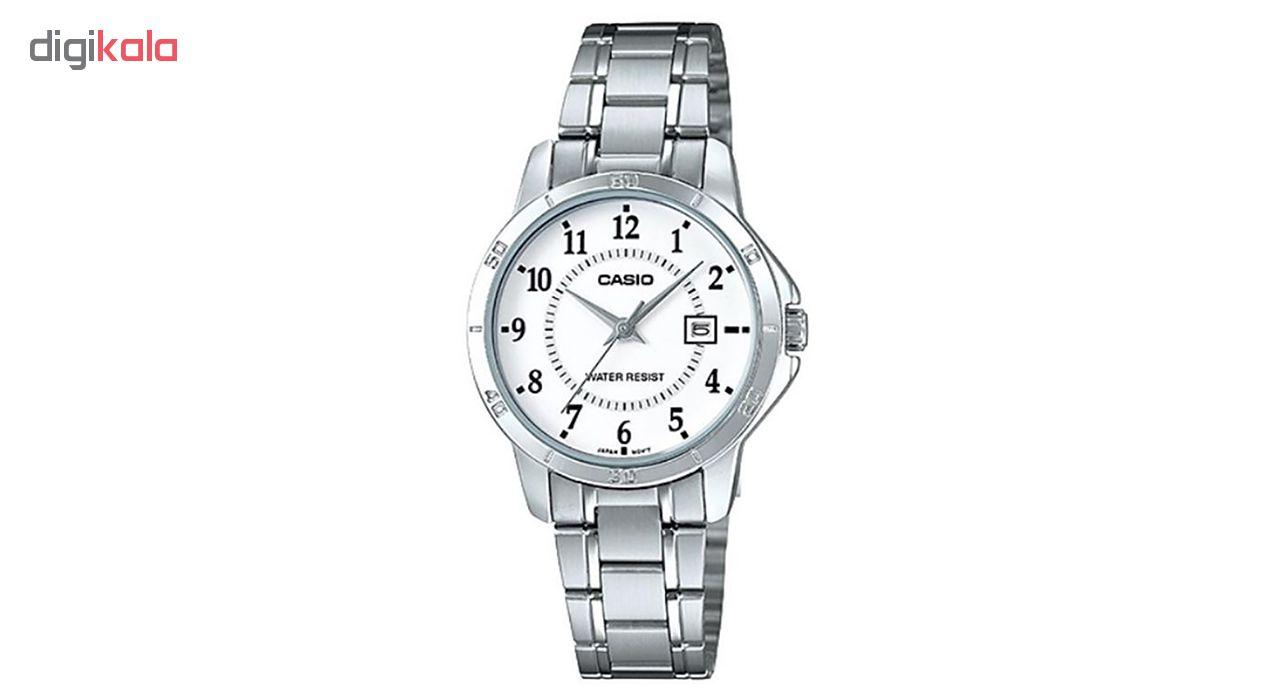 کد تخفیف                                      ساعت مچی عقربه ای زنانه کاسیو مدل LTP-V004D-7BUDF