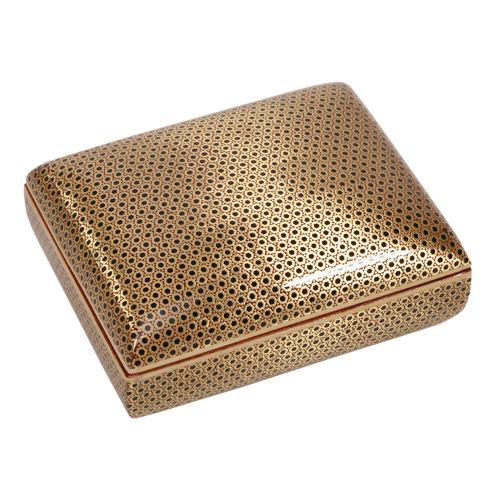 جعبه جواهرات خاتم کاری گالری گوهران مدل 653