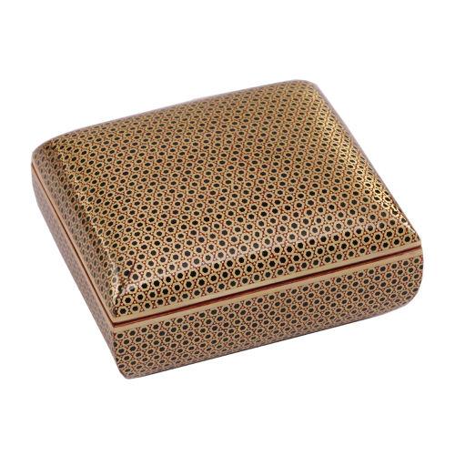 جعبه جواهرات خاتم کاری گالری گوهران مدل 654