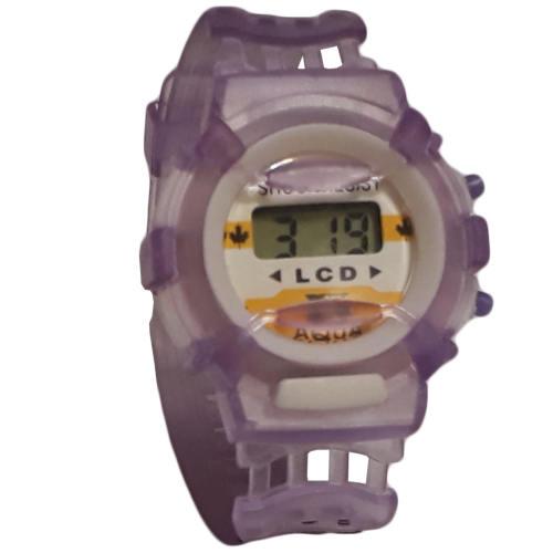 ساعت مچی دیجیتالی بچگانه مدل Pu-Transparent