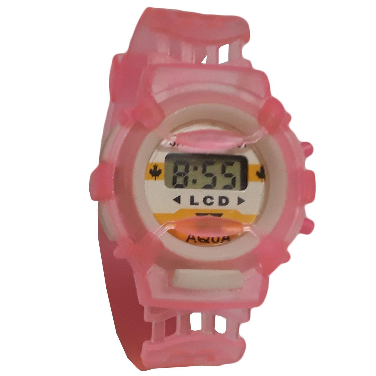 ساعت مچی دیجیتالی بچگانه مدل P-Transparent 3
