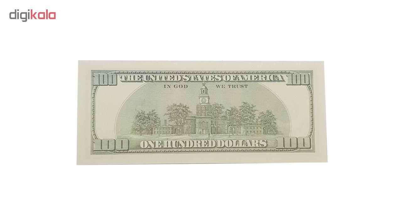 اسکناس طرح دلار مدل AB01 بسته 100 عددی
