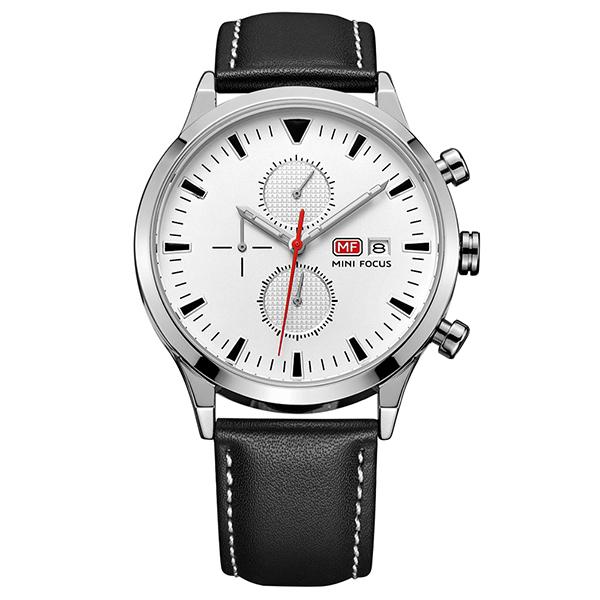 ساعت مچی عقربه ای مردانه مینی فوکوس مدل mf0015g.03