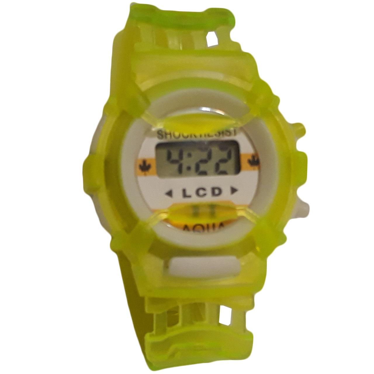 ساعت مچی دیجیتالی بچگانه مدل G-Transparent 42