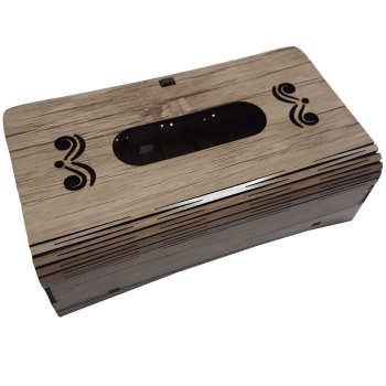 جعبه دستمال کاغذی مدل LarixBox