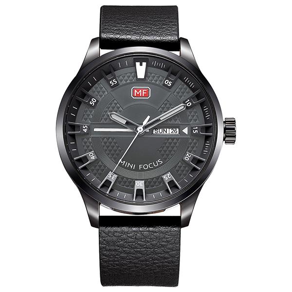 ساعت مچی عقربه ای مردانه مینی فوکوس مدل mf0028g.01