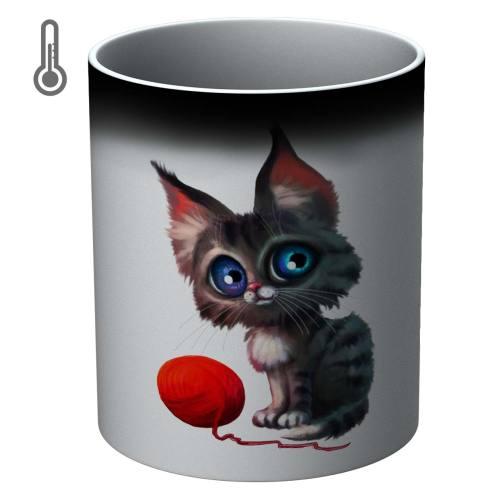 ماگ حرارتی مدل گربه 0089 T Animal