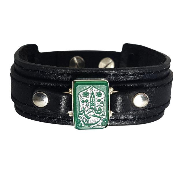 دستبند نقره گالری احد کد 4609